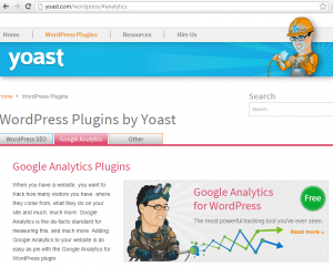 Plugin Google Analytics